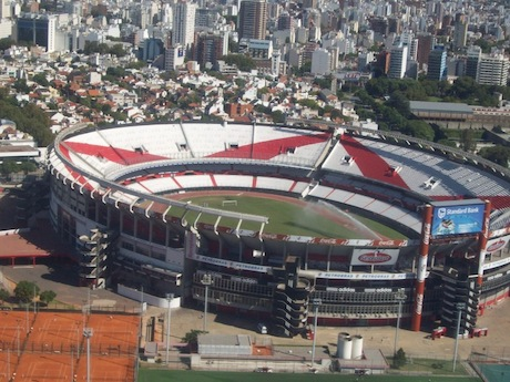 El Monumental – stadion River Plate Buenos Aires