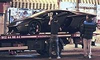 Madryt: Lamborghini Ronaldo popsuło się w centrum miasta