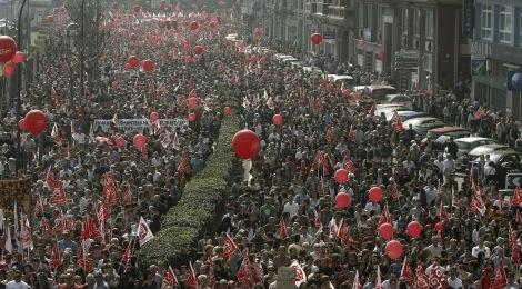 Protesty przeciwko rządowym reformom