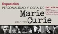 Getafe: Wystawa poświęcona Marii Skłodowskiej-Curie.