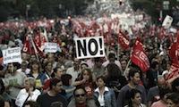 CCOO i UGT zapowiadają strajki przeciw reformie rynku pracy.