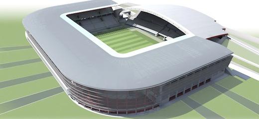 Stadio Friuli – stadion Udinese Calcio