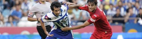 Deportivo kontra Getafe CF 1:1 [bramki]