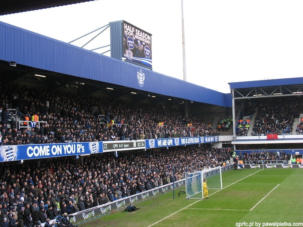 Nasze zdjęcia z meczu QPR vs Tottenham