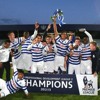 QPR U-18 Mistrzem Professional Development League Two